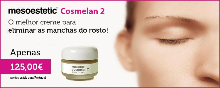 Elimine as manchas do rosto. Compre o mesoestetic Cosmelan 2 por apenas 125,00 €!