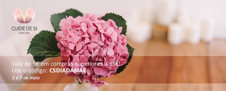 No Dia da Mãe, tenha um vale de 5€ em compras superiores a 35€!