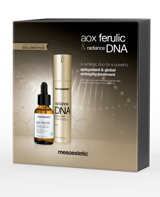 Pack NATAL Aox Ferulic + Radiance DNA Intensive Cream
