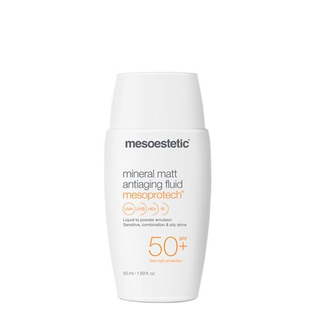 Mesoprotech Mineral Matt Antiaging Fluid Mesoestetic