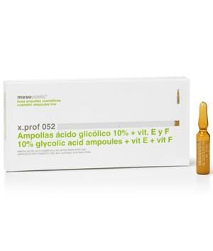 Ampolas de Ácido Glicólico 10% + Vitamina E e F